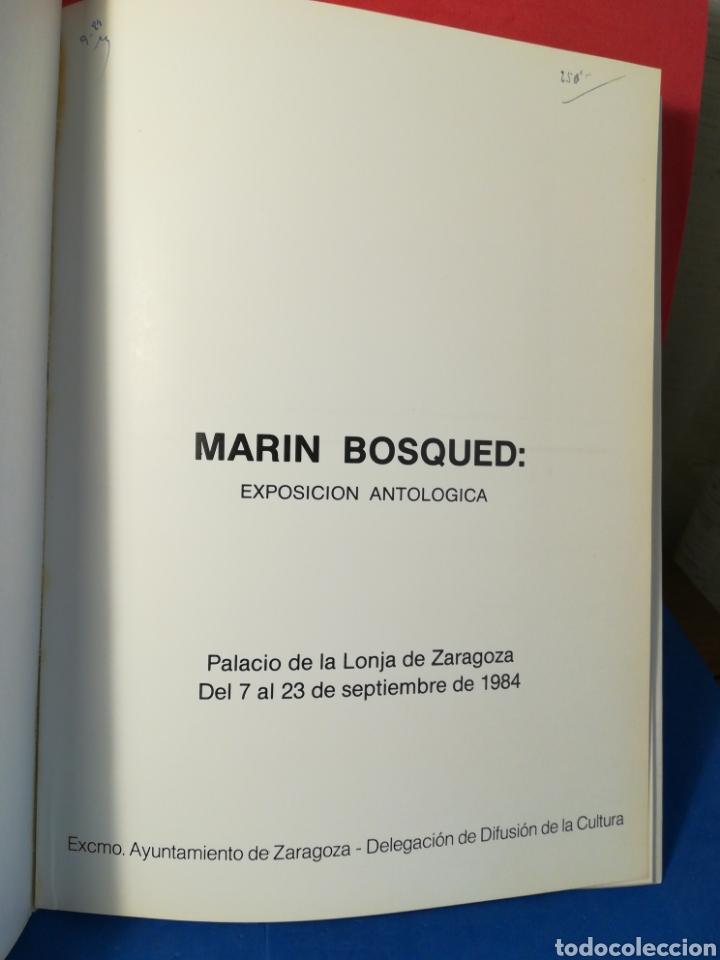 Arte: Marín Bosqued, exposición antológica - Catálogo exposición - Zaragoza, 1984 - Foto 2 - 130152391