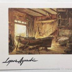 Arte: CATALOGO JOSE LUIS LÓPEZ AYERDI COQUE - SALA EXPOSICIONES MARIA BLANCHARD - SANTANDER CANTABRIA 1982. Lote 130284012