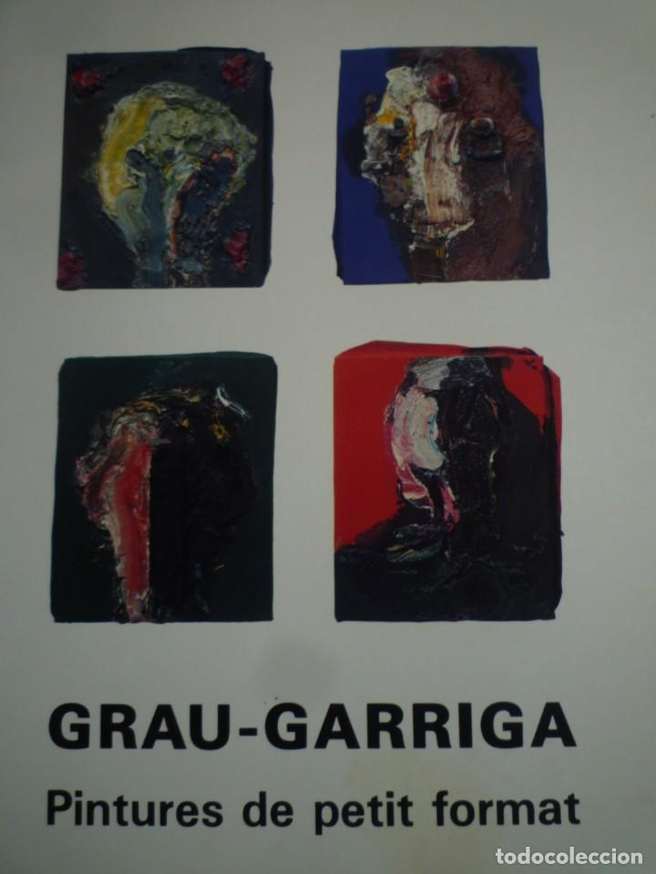 JOSEP GRAU-GARRIGA. PINTURES DE PETIT FORMAT. CANALS GALERIA D'ART. 1990 (Arte - Catálogos)