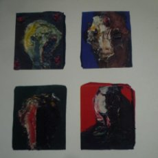 Arte: JOSEP GRAU-GARRIGA. PINTURES DE PETIT FORMAT. CANALS GALERIA D'ART. 1990. Lote 130426086