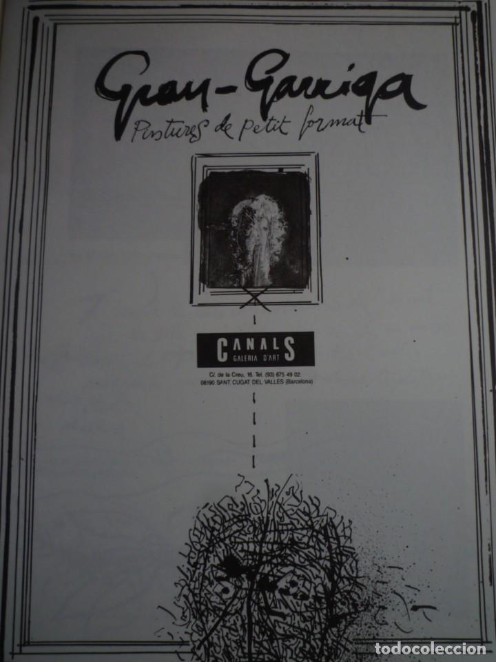 Arte: JOSEP GRAU-GARRIGA. PINTURES DE PETIT FORMAT. CANALS GALERIA D'ART. 1990 - Foto 2 - 130426086