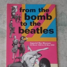 Arte: FROM THE BOMB TO THE BEATLES (IMPERIAL WAR MUSEUM 2000). Lote 130457826