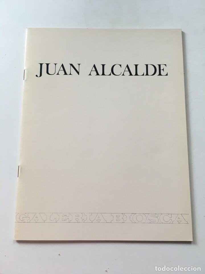 CATÁLOGO JUAN ALCALDE- BIOSCA (Arte - Catálogos)