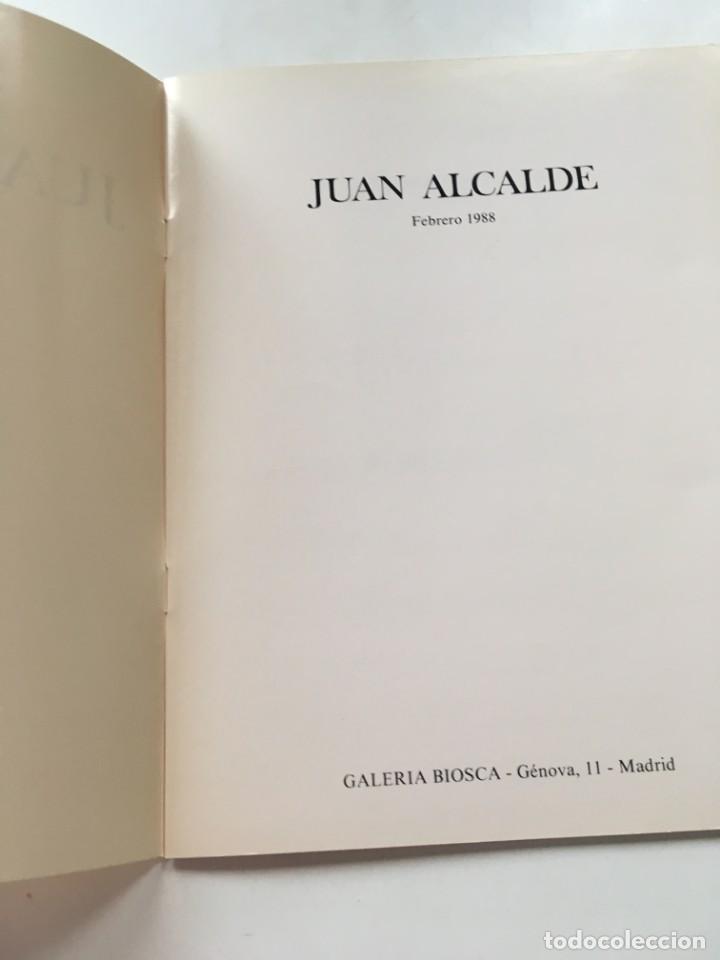 Arte: Catálogo Juan Alcalde- Biosca - Foto 2 - 130809436