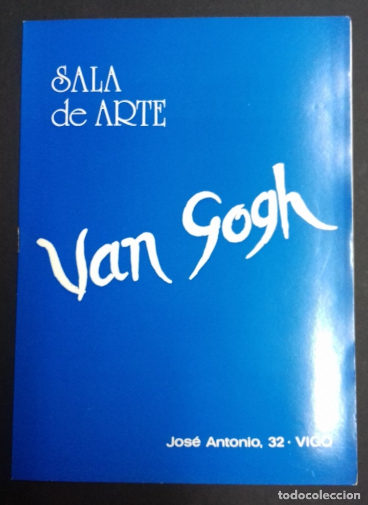 Arte: EUSTAQUIO SEGRELLES. CATALOGO DE EXPOSICION SALA VAN GOGH DE VIGO. 1974. FIRMADO Y DEDICADO. - Foto 11 - 129396243
