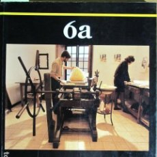 Arte: EDICIONS 6A OBRA GRÀFICA. LLONJA, MALLORCA, 1989-1990. Lote 131185364