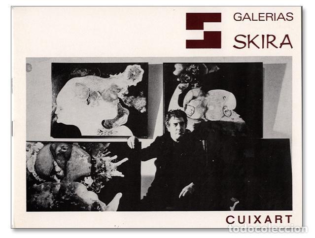 CUIXART - CATÁLOGO GALERÍA SKIRA, MADRID - MAYO 1970 (Arte - Catálogos)