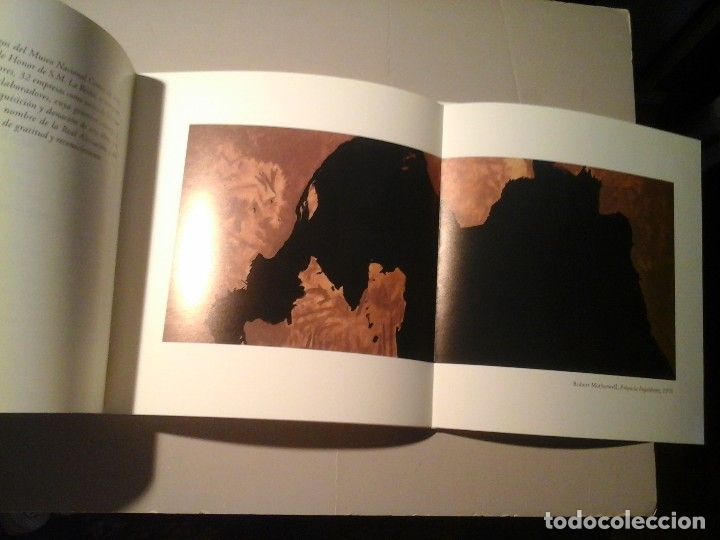 Arte: ROBERT MOTHERWELL. PRESENCIA INQUIETANTE. ASOCIACIÓN AMIGOS MUSEO REINA SOFÍA. EDICIÓN LIMITADA.RARO - Foto 2 - 131307911