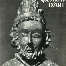 Arte: REVISTA QÜESTIONS D'ART - Nº 1 - EDITORIAL ESTELA - 1967. Lote 131359686