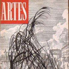 Arte: CORREO DE LAS ARTES. REVISTA Nº 26. JULIO-AGOSTO 1960. PORTADA DE HANS HARTUNG. GALERÍA RENÉ METRAS.. Lote 131429286