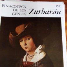 Arte: PINACOTECA DE LOS GENIOS Nº 157: ZURBARÁN. EDITORIAL CODEX. Lote 131692570