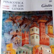 Arte: PINACOTECA DE LOS GENIOS Nº 40: GIOTTO. EDITORIAL CODEX. Lote 131694974