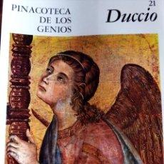 Arte: PINACOTECA DE LOS GENIOS Nº 21: DUCCIO. EDITORIAL CODEX. Lote 131695082