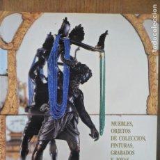 Arte: CATALOGO SUBASTAS FINARTE DE MUEBLES, OBJETOS DE COLECCION, JOYAS, PINTURAS Y GRABADOS. Lote 132009950