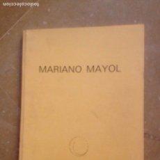 Arte: MARIANO MAYOL. 4 - 30 ABRIL, 1990 (CÍRCULO DE BELLAS ARTES, PALMA DE MALLORCA). Lote 132150235