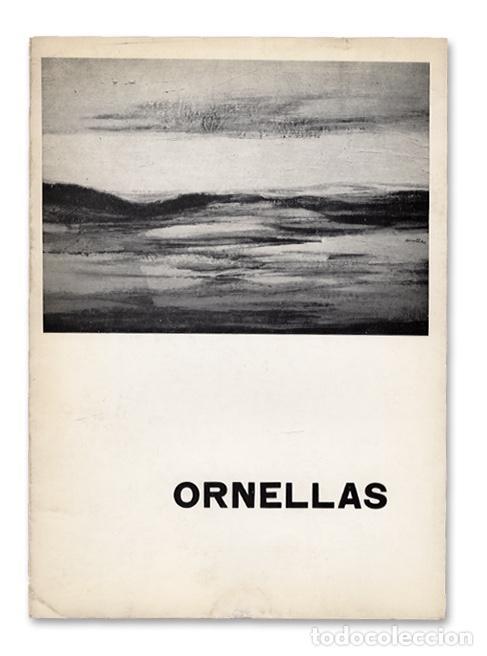 FERNANDO ORNELLAS PARDO (LIMA, PERÚ, 1916) - ATENEO DE MADRID, 1966 - TEXTO DE CARLOS AREÁN (Arte - Catálogos)