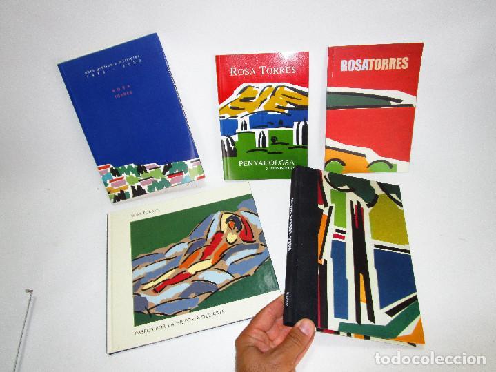 LOTE CATALOGOS ARTE ROSA TORRES , VALENCIA, EQUIPO CRONICA (Arte - Catálogos)