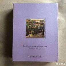 Arte: DOBLE CATÁLOGO DE LA CASA DE SUBASTAS CHRISTIES - THE CHAMALIMAUD COLLECTION (LONDON, JULY 2005).. Lote 132485522
