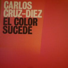 Arte: CINETISMO. CARLOS CRUZ-DIEZ. MUSEO DE ARTE ABSTRACTO ESPAÑOL. 2009. Lote 132783886