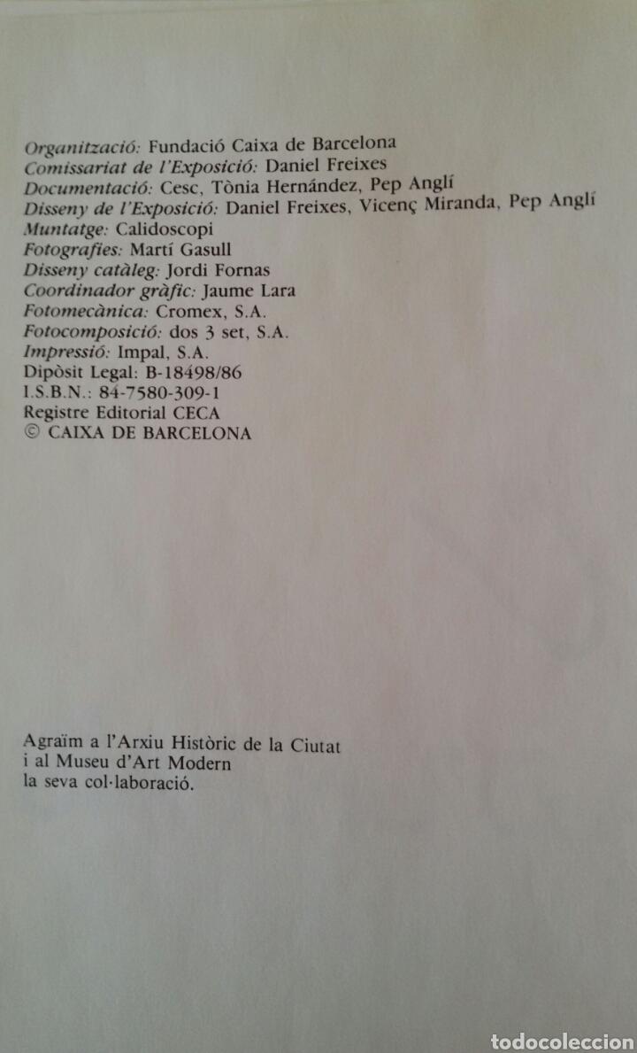 Arte: CESC. UNA HISTÒRIA D'UN PAÍS. FUNDACIÓ CAIXA DE BARCELONA, JUNIO 1986 + DÍPTICO DE LA EXPOSICIÓN - Foto 3 - 133089187