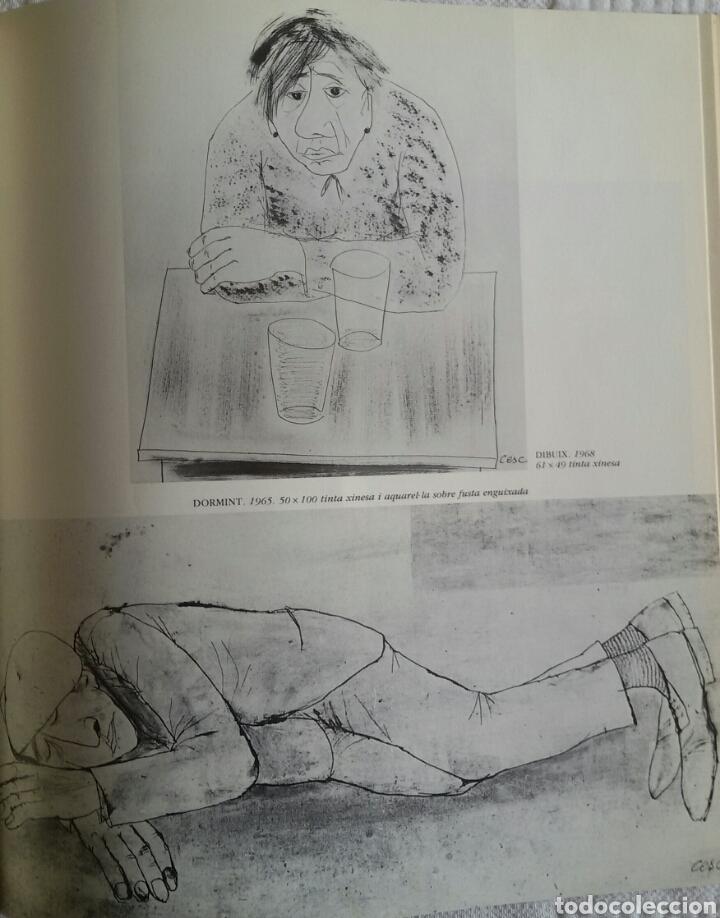 Arte: CESC. UNA HISTÒRIA D'UN PAÍS. FUNDACIÓ CAIXA DE BARCELONA, JUNIO 1986 + DÍPTICO DE LA EXPOSICIÓN - Foto 9 - 133089187