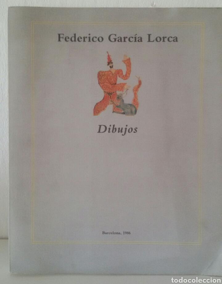 FEDERICO GARCÍA LORCA. DIBUJOS. BARCELONA, 1986. SALA DE EXPOSICIONES CAIXA DE BARCELONA. (Arte - Catálogos)