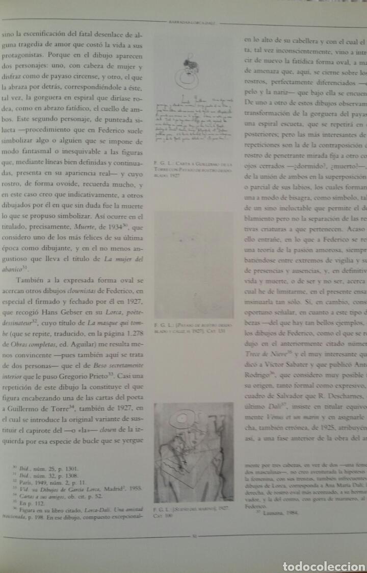 Arte: FEDERICO GARCÍA LORCA. DIBUJOS. BARCELONA, 1986. SALA DE EXPOSICIONES CAIXA DE BARCELONA. - Foto 6 - 133090091