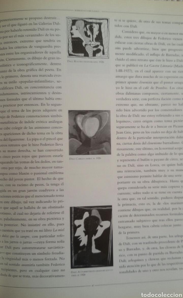 Arte: FEDERICO GARCÍA LORCA. DIBUJOS. BARCELONA, 1986. SALA DE EXPOSICIONES CAIXA DE BARCELONA. - Foto 7 - 133090091