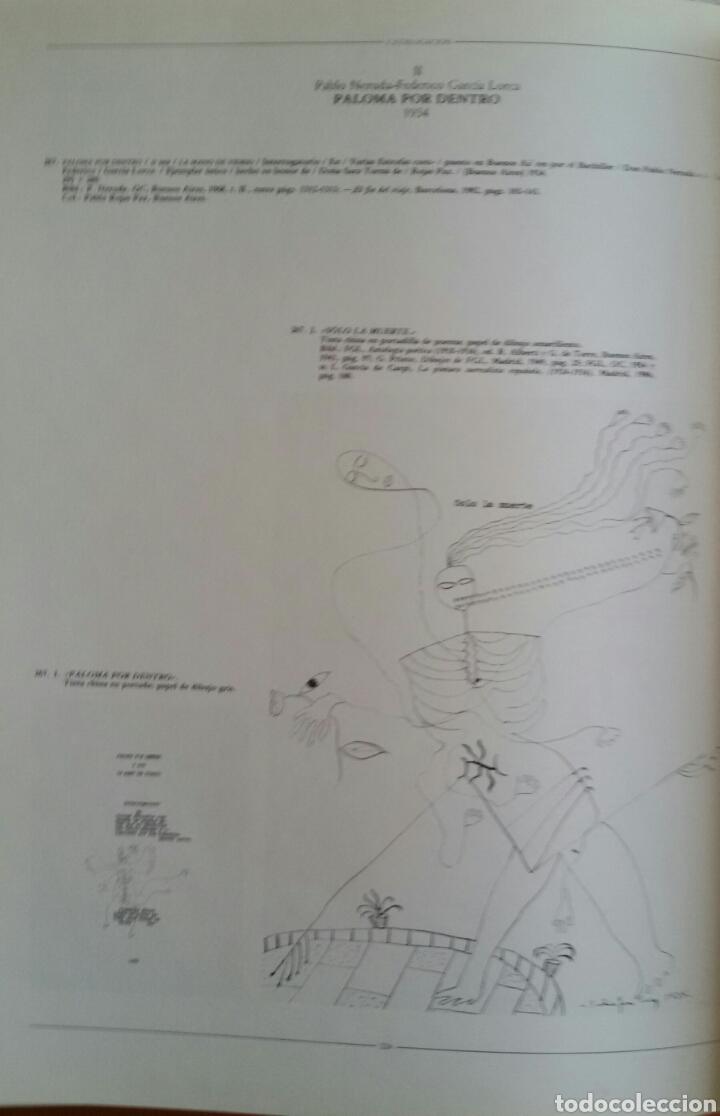 Arte: FEDERICO GARCÍA LORCA. DIBUJOS. BARCELONA, 1986. SALA DE EXPOSICIONES CAIXA DE BARCELONA. - Foto 9 - 133090091