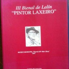 Arte: 3ª BIENAL 'PINTOR LAXEIRO' DE LALÍN. 1997. Lote 133335074