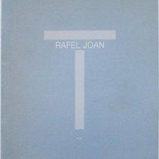 Arte - Rafel Joan. Catálogo expo Barcelona 2006 - 133600494