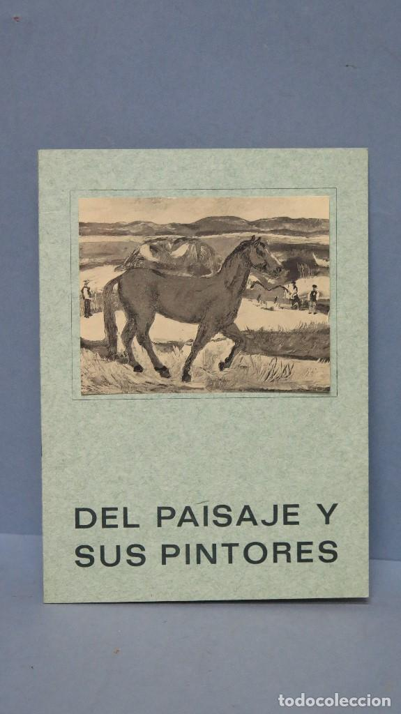 DEL PAISAJE Y SUS PINTORES. GALERIA EDURNE (Arte - Catálogos)