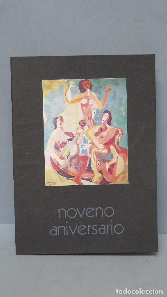 CATALOGO NOVENO ANIVERSARIO. GALERIA EDURNE. MADRID (Arte - Catálogos)