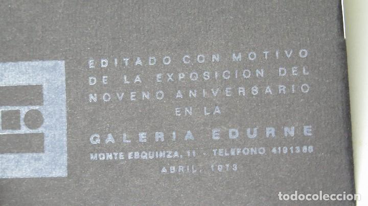 Arte: CATALOGO NOVENO ANIVERSARIO. GALERIA EDURNE. MADRID - Foto 5 - 133605866