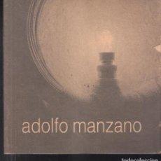 Arte: ADOLFO MANZANO. SEPTIEMBRE 1995. CENTRO DE ESCULTURAS DE CANDAS. MUSEO ANTÓN.. Lote 195211663