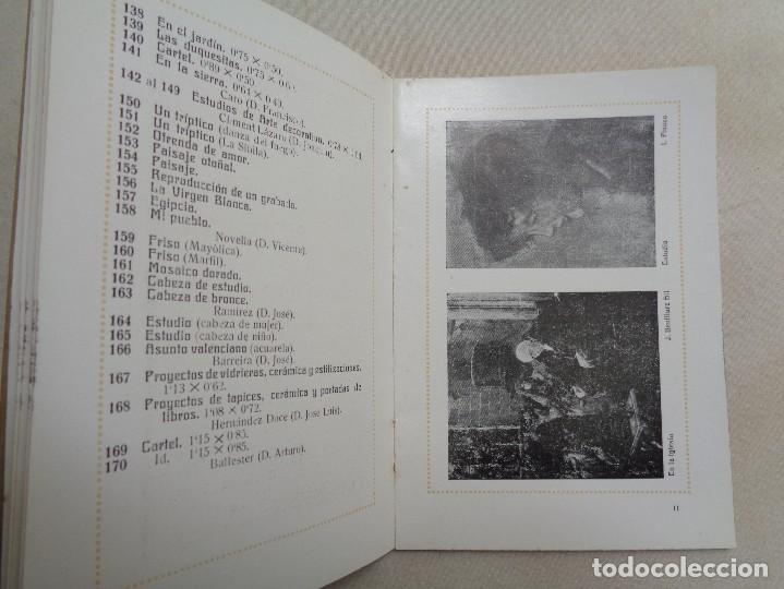 Arte: EXPOSICION PINTURA ,ESCULTURA Y ARTE DECORATIVO.VALENCIA 1914.-834 - Foto 5 - 134367270