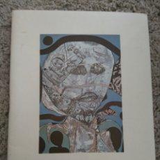 Arte: CATÁLOGO E INVITACIÓN ARMANDO CARDONA TORRANDELL. GALERÍA TANTRA DE GIJÓN. AÑO 1976. Lote 153683364