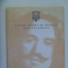 Arte: CATALOGO EXPOSICION ESCULTURA DE SEBASTIAN SANTOS , SEVILLA 1999 . DEDICADO POR AUTOR.. Lote 134456030