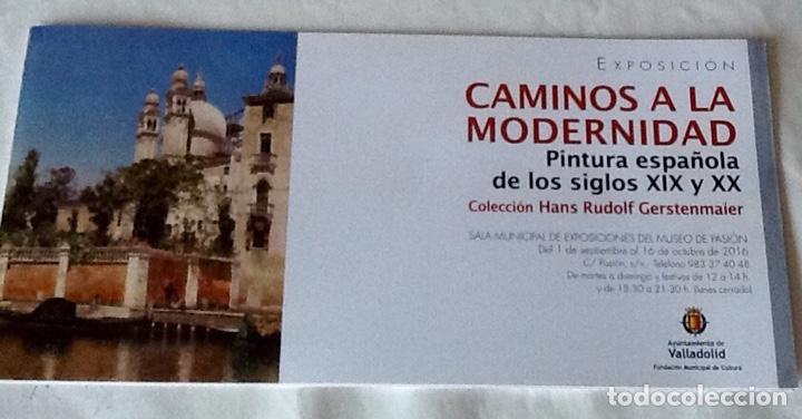 CAMINOS A LA MODERNIDAD PINTURA ESPAÑOLA DE LOS SIGLOS XIX Y XX COLECCIÓN HANS RUDOLF GERSTENMAIER (Arte - Catálogos)