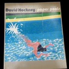 Arte: DAVID HOCKNEY - PAPER POOLS. Lote 135555726