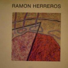 Arte: RAMON HERREROS. JORGE WAGENSBERG. GALERIA CIENTO. 1985. Lote 135640851