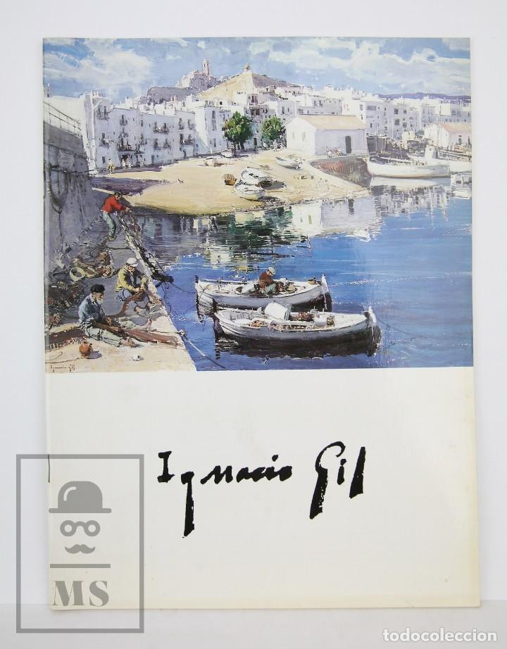 CATÁLOGO EXPOSICIÓN PINTURA - IGNACIO GIL - GALERÍAS AUGUSTA. BARCELONA, 1996 (Arte - Catálogos)