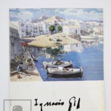 Arte: CATÁLOGO EXPOSICIÓN PINTURA - IGNACIO GIL - GALERÍAS AUGUSTA. BARCELONA, 1996. Lote 135652619