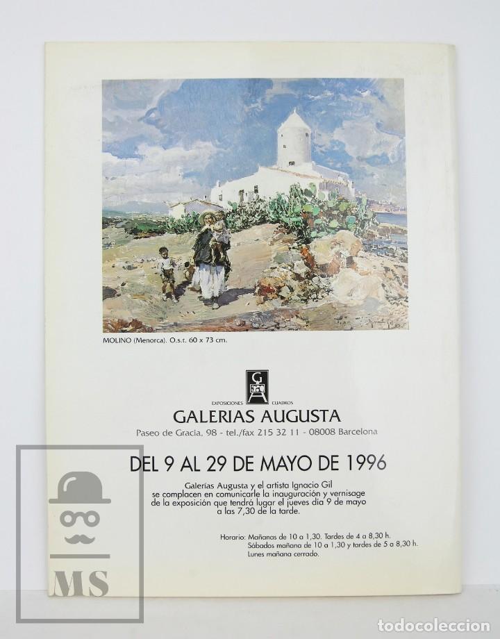 Arte: Catálogo Exposición Pintura - Ignacio Gil - Galerías Augusta. Barcelona, 1996 - Foto 5 - 135652619