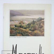Arte: CATÁLOGO EXPOSICIÓN PINTURA - M. BORDALLO - GRIFÉ & ESCODA. BARCELONA, 1990. Lote 135654971