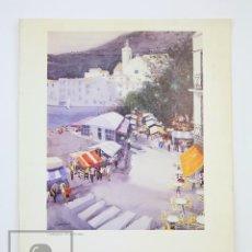 Arte: CATÁLOGO EXPOSICIÓN DE PINTURA - DANÉS JORDI / DANÉSJORDI - SALA RUSIÑOL. SANT CUGAT VALLÉS, 1993. Lote 135657195