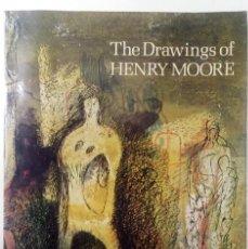 Arte: THE DRAWINGS OF HENRY MOORE. Lote 136126710