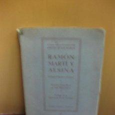 Arte: CATALOGO EXPOSICION DE LA VIRREINA RAMON MARTI Y ALSINA. EDICIONES SELECTAS 1ª EDICION 1941. . Lote 136353814
