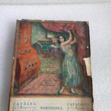 Arte: CATALOGO DE LA EXPOSICION INTERNACIONAL DEL MUEBLE Y DECORACION DE INTERIORES BARCELONA 1923. Lote 136486942