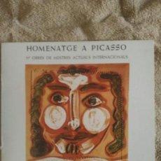 Arte - HOMENATGE A PICASSO- GALERIA DAU AL SET. BCN. 57 OBRES DE MESTRES I 57 CERAMIQUES DE PICASSO ANY1977 - 136821882